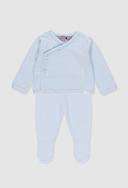 Boboli Blauw broek en bloes