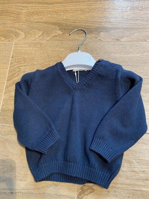 dr kid sweater blauw